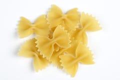 Italiaanse deegwaren - Farfalle Stock Foto