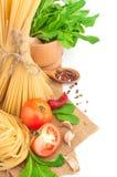 Italiaanse deegwaren Stock Afbeeldingen