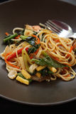 Italiaanse deegwaren - spaghetti bolognese in plaat stock foto's