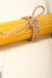 Italiaanse deegwarenspaghetti Stock Foto's