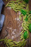 Italiaanse deegwarentortellini Stock Afbeeldingen