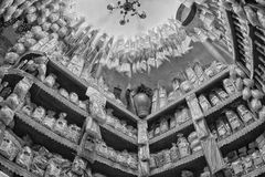 Italiaanse deegwarenwinkel Stock Foto's