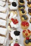 Italiaanse desserts Stock Afbeelding