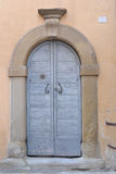 Italiaanse deur Stock Afbeelding