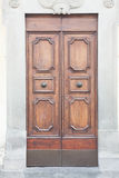 Italiaanse deur Royalty-vrije Stock Foto