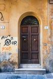 Italiaanse deur Stock Foto