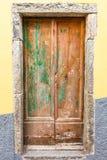 Italiaanse deur Royalty-vrije Stock Foto's