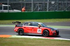 Italiaanse die het Reizen Auto door Audi Sport wordt ontwikkeld stock foto's