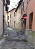 Italiaanse dorpsscène Royalty-vrije Stock Foto