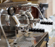 Italiaanse espressomachine royalty-vrije stock fotografie