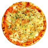 Italiaanse geïsoleerde pizza Royalty-vrije Stock Afbeelding