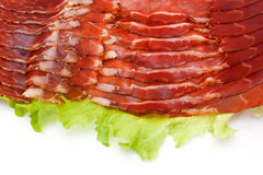Italiaanse ham Stock Afbeelding