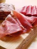 Italiaanse ham Stock Afbeeldingen