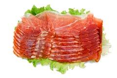 Italiaanse ham Stock Fotografie