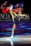 Italiaanse het ijsschaatser van Valentina Marchei Royalty-vrije Stock Foto's