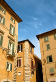 Italiaanse huizen Stock Afbeelding