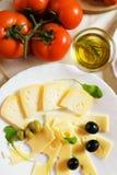 Italiaanse kaas Stock Afbeelding