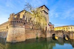 Italiaanse kastelen - Fontanellato - Parma - Emilia Romagna - Italië stock afbeelding