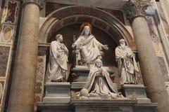 Italiaanse Kerkarchitectuur stock foto's