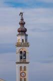 Italiaanse Klokketoren in Bottrighe, Rovigo, Italië Royalty-vrije Stock Foto