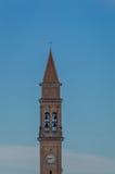 Italiaanse Klokketoren in Donada, Rovigo Royalty-vrije Stock Afbeelding