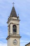 Italiaanse Klokketoren in Rosolina, Rovigo Stock Afbeeldingen