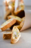 Italiaanse koekjes - biscotti Royalty-vrije Stock Afbeelding