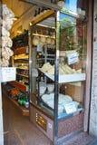 Italiaanse kruidenierswinkelopslag Royalty-vrije Stock Foto