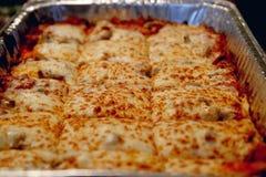 Italiaanse lasagna's Royalty-vrije Stock Afbeelding