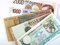 Italiaanse Lires Stock Afbeeldingen