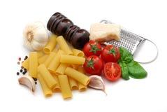 Italiaanse macaroni Royalty-vrije Stock Foto