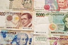 Italiaanse munt Royalty-vrije Stock Foto's