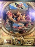 Italiaanse muurschildering Royalty-vrije Stock Foto
