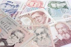 Italiaanse oude rekeningen Royalty-vrije Stock Fotografie