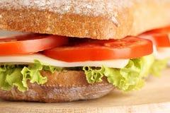 Italiaanse paninosandwich Stock Foto
