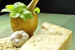 Italiaanse pesto stock afbeelding