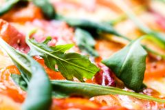 Italiaanse pizza Stock Fotografie