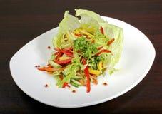 Italiaanse plantaardige salade Stock Afbeeldingen