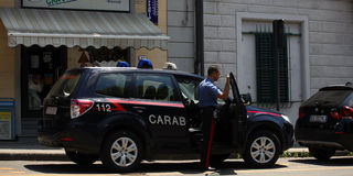 Italiaanse Politie Royalty-vrije Stock Fotografie