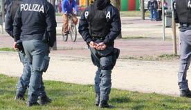 Italiaanse politieagent Royalty-vrije Stock Foto