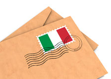 Italiaanse post Stock Fotografie