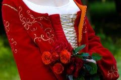 Italiaanse renaissancekleding Stock Afbeelding
