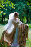 Italiaanse renaissancekleding Stock Foto