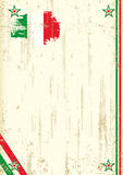 Italiaanse retro achtergrond Royalty-vrije Stock Afbeelding
