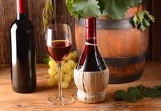 Italiaanse rode wijn royalty-vrije stock foto