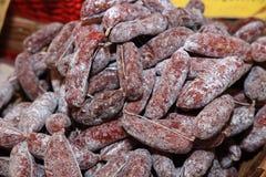 Italiaanse salame Royalty-vrije Stock Afbeelding