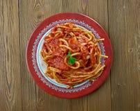 Italiaanse saus van geroosterde tomaten Royalty-vrije Stock Afbeeldingen