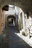Italiaanse smalle straat Stock Fotografie
