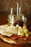 Italiaanse snacks Royalty-vrije Stock Afbeelding
