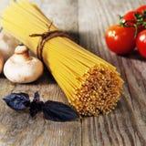 Italiaanse spaghetti stock foto